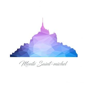 Monte saintmichel polygone logo
