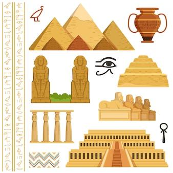 Monument architectural de l'egypte