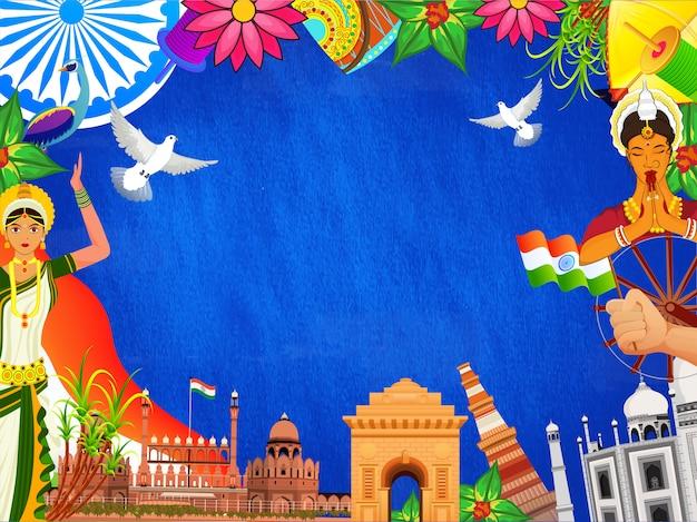 Monuments indiens célèbres
