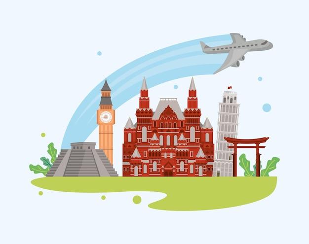 Monuments de la journée mondiale du tourisme
