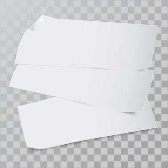 Morceau de papier.