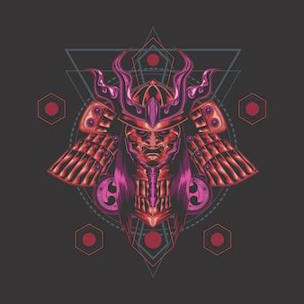 Mort géométrie sacrée ronin