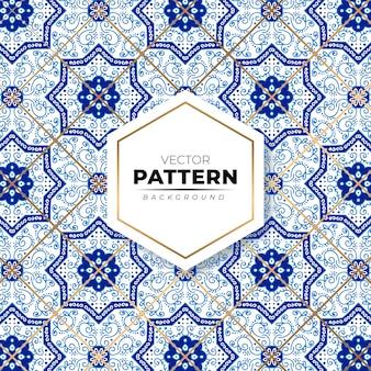 Mosaïque colorée marocaine sans soudure de fond