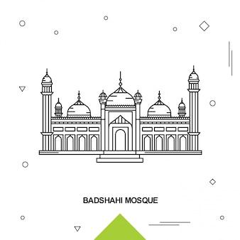 Mosque badshahi