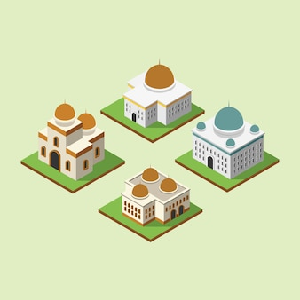 Mosquée 3d