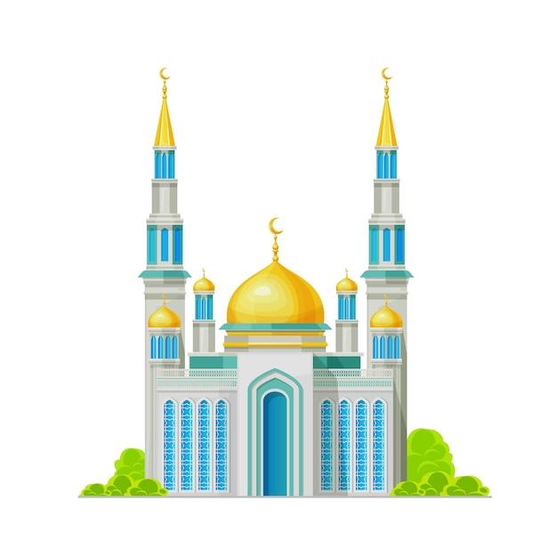 Mosquée, bâtiment musulman, tombeau de religion d'islam