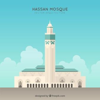 Mosquée hassan façade