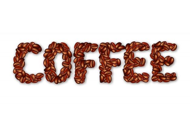Mot anglais coffee.