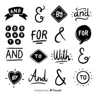 Mot-clé de mariage dessiné à la main