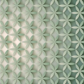Motif 3d floral