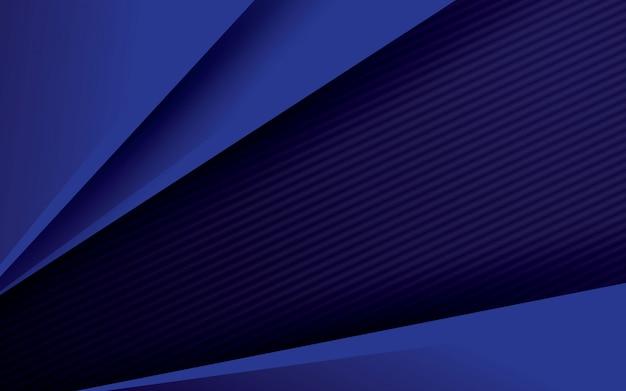 Motif abstrait bleu et noir