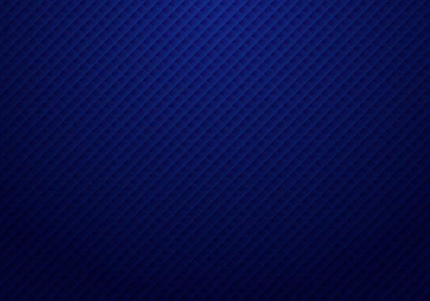 Motif abstrait de carrés bleu foncé 3d