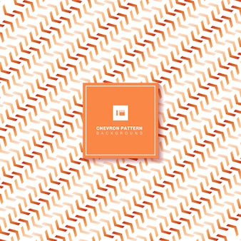 Motif abstrait chevron orange