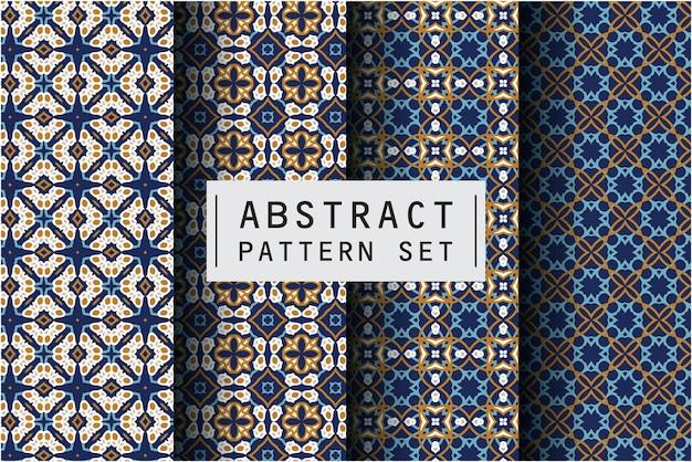 Motif abstrait dans un style décoratif ethnique