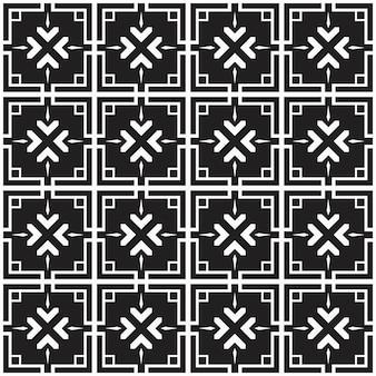Motif abstrait géométrique