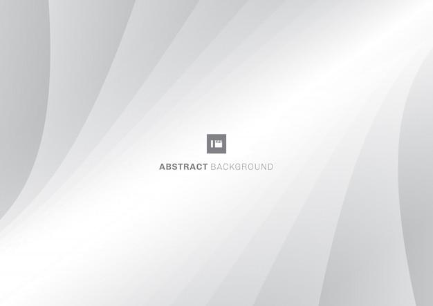 Motif abstrait lignes de fond blanc