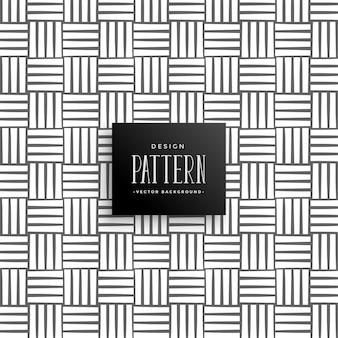Motif abstrait de lignes horizontales et verticales