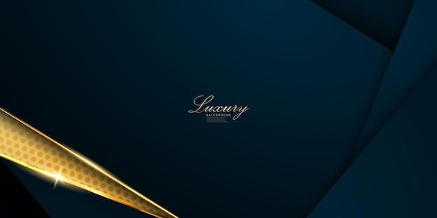 Motif abstrait noir et or et affiche de fond avec des vagues dynamiques. illustration vectorielle.