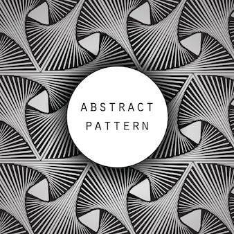 Motif abstrait optique