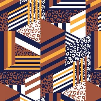 Motif abstrait de peau d'animal