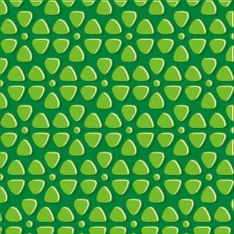 Motif abstrait pierre verte