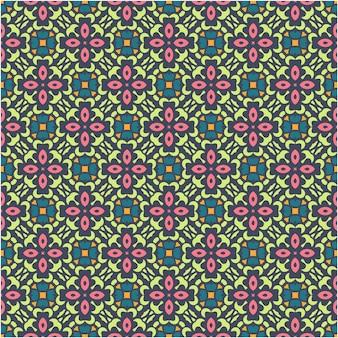 Motif abstrait sans couture dans le style aztèque. figure broderie tribale. motif indien, scandinave, tzigane, mexicain, folklorique