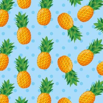 Motif ananas