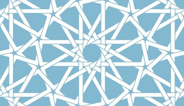 Motif arabe sans soudure
