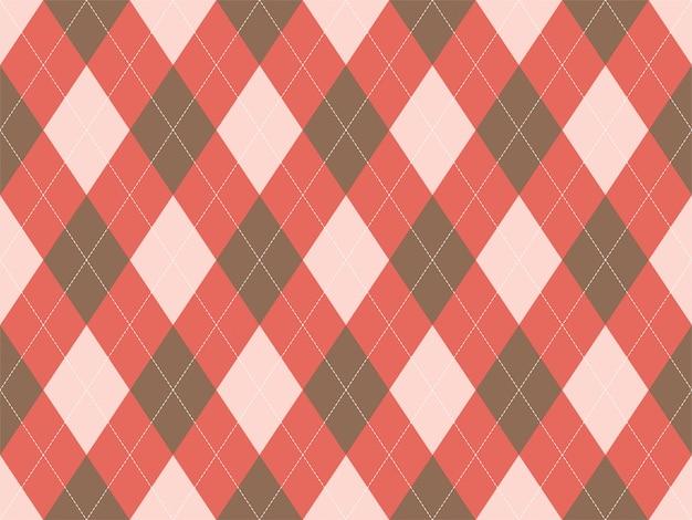 Motif argyle sans couture. fond de texture de tissu. argill classique.