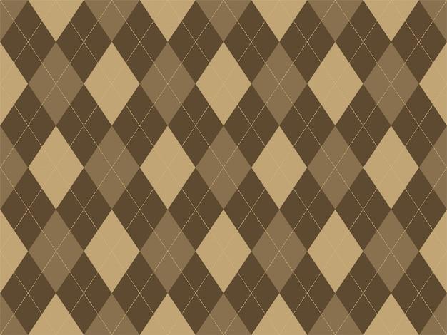 Motif argyle sans soudure. fond de texture de tissu. ornement d'argill classique