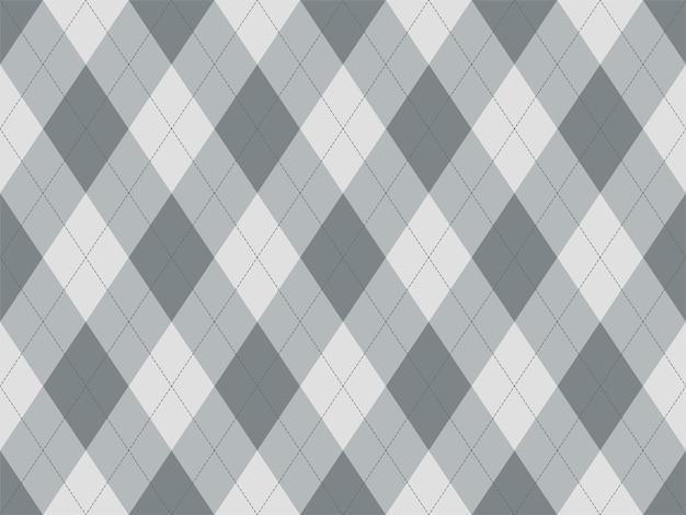 Motif argyle sans soudure. fond de texture de tissu. ornement de vecteur argill classique.