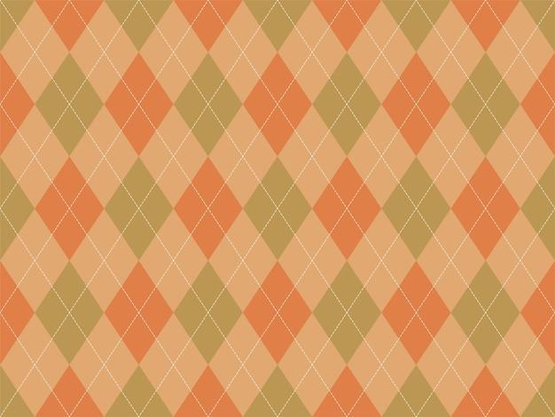 Motif argyle sans soudure. fond de texture de tissu.