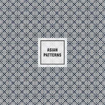 Motif asiatique