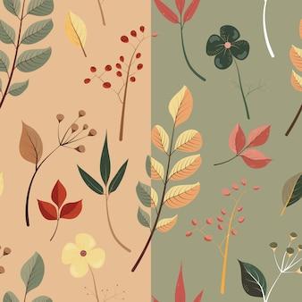 Motif d'automne naturel