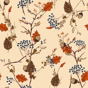 Motif d'automne