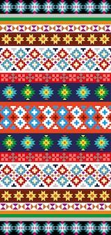 Motif aztèque natif