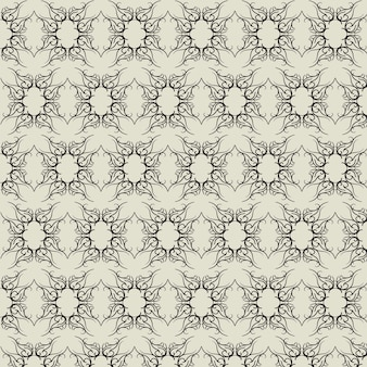 Motif baroque abstrait