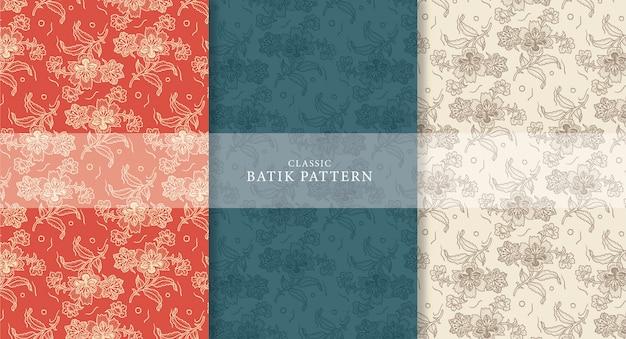 Motif batik classique