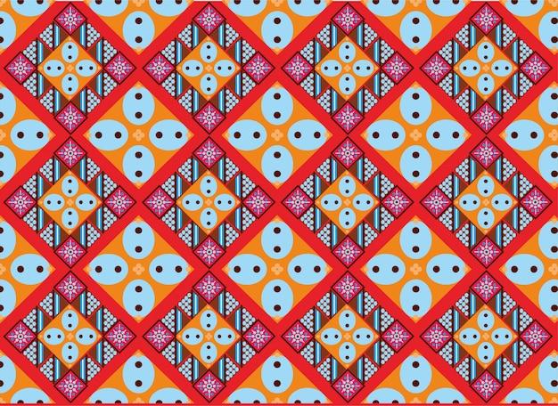 Motif de batik indonésien