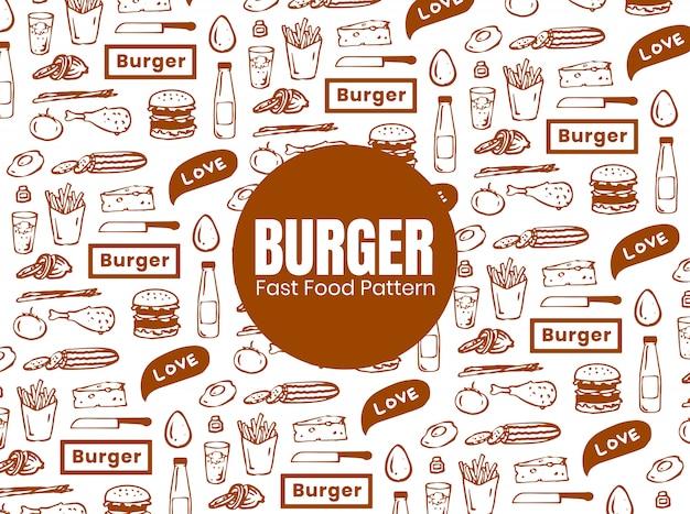 Motif burger