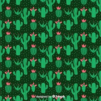 Motif de cactus