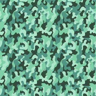 Motif de camouflage militaire sans soudure de vecteur. abstrait vectorielle continue