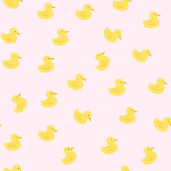 Motif canard en caoutchouc