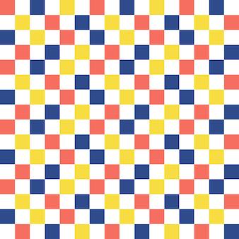 Motif carré. abstrait géométrique. illustration de style luxueux et élégant