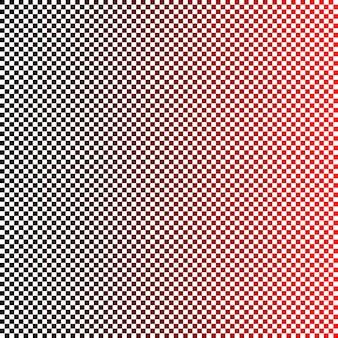 Motif carré géométrique simple fond dégradé noir à rouge illustration vectorielle