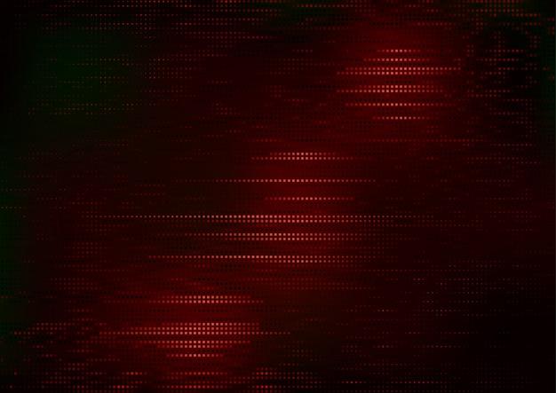 Motif carré rouge sur fond sombre