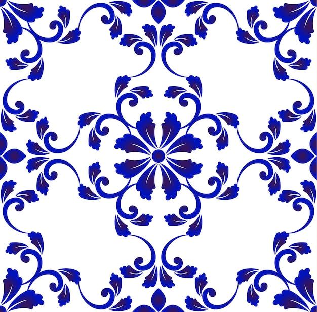 Motif de carreaux de céramique