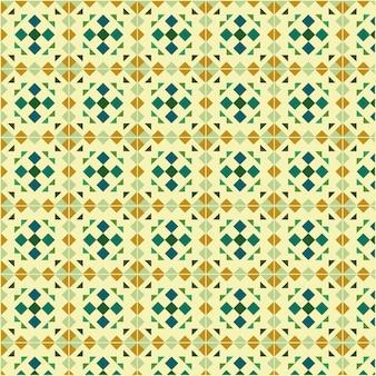 Motif de carreaux géométriques