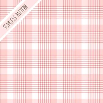 Motif à carreaux rose