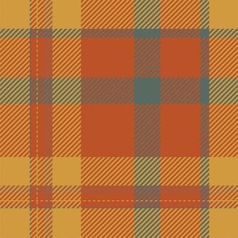 Motif à carreaux sans couture ecosse tartan. tissu de fond rétro. texture géométrique carrée de couleur vintage check.